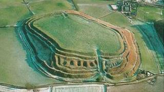 Iron Age hill fort Oswestry