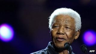 Nelson Mandela - photo 2005