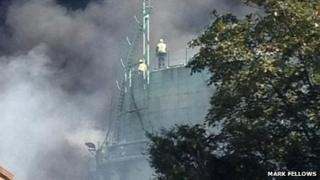 Fire in Gravesend