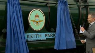 Rededication of the train