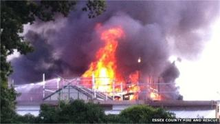 Braintree school fire