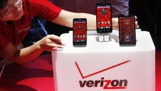 Phones on the Verizon network