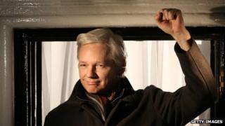 File photo: Julian Assange