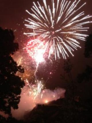 Virgin Money Fireworks Concert