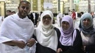 Ibrihim, Fatima, Omaima and Somaia Halawa