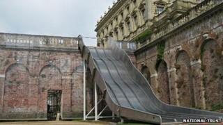 Slide at Cliveden estate