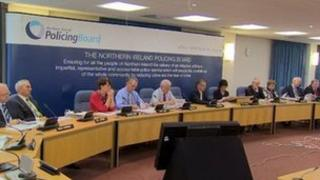 A recent public meeting of the Northern Ireland Policing Board