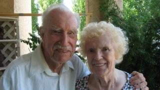 Ken Brind and his wife Mary