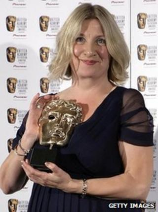 Victoria Wood at the Baftas in 2007