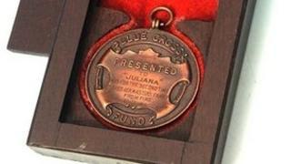 Blue Cross Medal