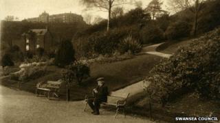 Cwmdonkin Park in its heyday