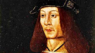 King James IV died at Flodden on 9 September 1513