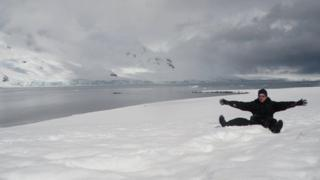 Jonny Blair in Antarctica