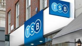 Artist's impression of a new TSB branch
