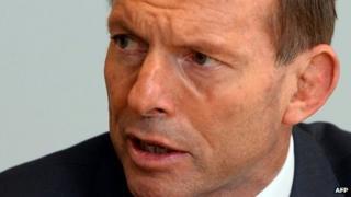 Australian Prime Minister-elect Tony Abbott, pictured in Sydney on 8 September 2013