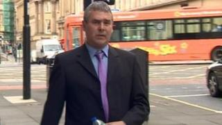 Barry Rogerson at Newcastle Magistrates' Court