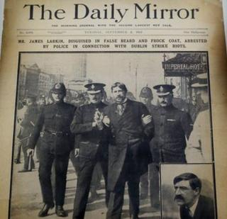 Front page of Daily Mirror from 2 September 1913