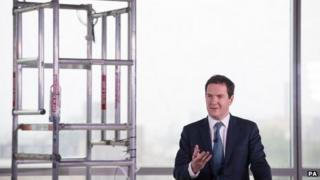 George Osborne speaking on 9 September