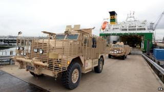 Mastiff fleet returns from Afghanistan