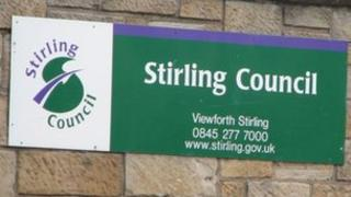 Stirling Council sign