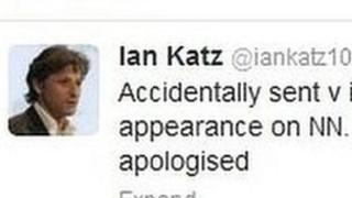 Ian Katz Tweet