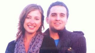 Ania Galanska and Rhys Clark