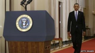 President Barack Obama at the White House (10 September 2013)
