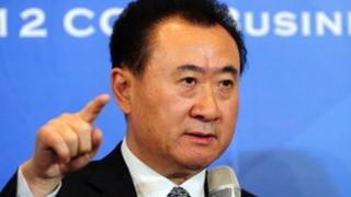 Dalian Wanda founder Wang Jianlin