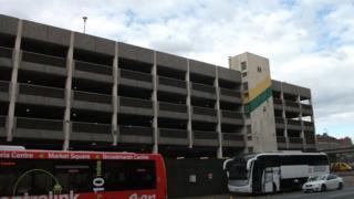 The Broadmarsh car park