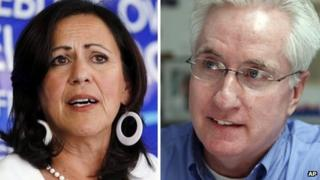 State senators Angela Giron, D-Pueblo, and John Morse, D-Colorado Springs, who were sacked by voters in facing recall elections on 10 September 2013