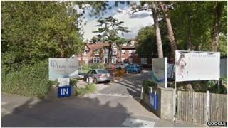 Holly House Hospital in Buckhurst Hill