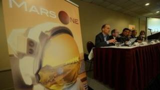 Launch of Mars One application process in April