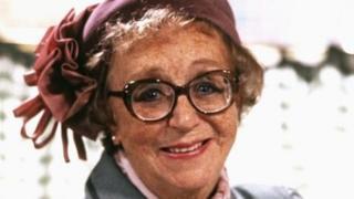 The late actress Thora Hird