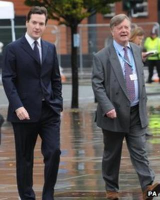George Osborne and Ken Clarke