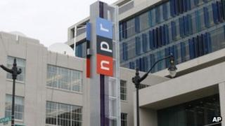 National Public Radio headquarters in Washington, D.C. on 15 April 2013