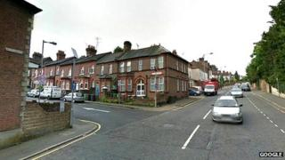 Farley Hill, on junction with Stockwood Crescent, in Luton