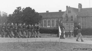 Troops at Littlecote House