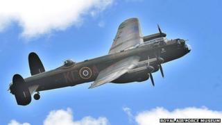 The Battle of Britain Memorial Flight Lancaster