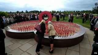 Veterans and family gather for unveiling of new Never Forget memorial