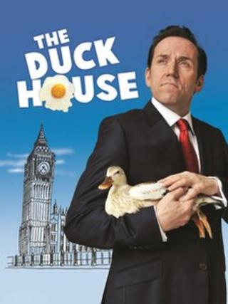 Ben Miller on The Duck House poster