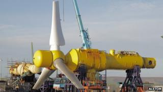 Alstom devices deal for Sound of Islay tidal array