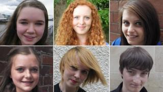 Generation 2014: Rory, Sarah, Ida, Erin, Luxor Ellie