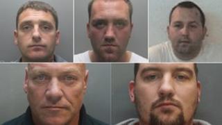 Men jailed after mines stolen