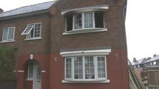 Arson attack house in Middlesbrough