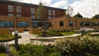 Phoenix House recovery centre at Catterick Garrison, North Yorkshire