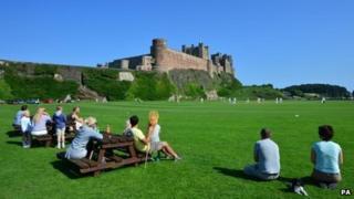 Summer in Northumberland