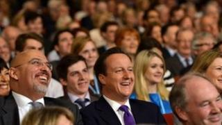 David Cameron at the 2012 Conservative Party conference