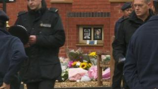 PCs Fiona Bone and Nicola Hughes memorial