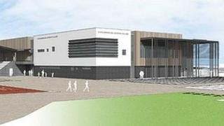 Proposed Middlesbrough sports village