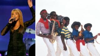 Beyonce (left) and Musical Youth